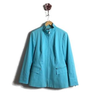 Lafayette 148 New York Blue Belted Trench